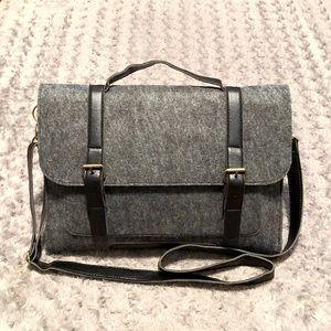 New! Men's crossbody laptop bag
